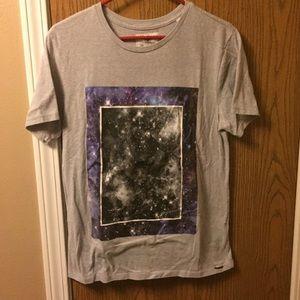 Used galaxy T-shirt.